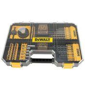 Immagine di serie punte c/bits seghe tazza dt71569-qz-100pz cassetta plastica