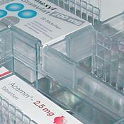 Immagine di Divisori longitudinali Pharma trasparenti