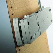 Immagine di distanziali servetto super grigio h mm. 13