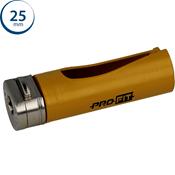 Immagine di seghe tazza click&drill hm mm. 25 multipurpose wood&stone
