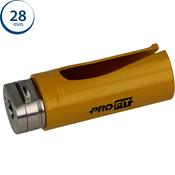 Immagine di seghe tazza click&drill hm mm. 28 multipurpose wood&stone