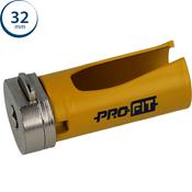 Immagine di seghe tazza click&drill hm mm. 32 multipurpose wood&stone