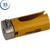 Immagine di seghe tazza click&drill hm mm. 35 multipurpose wood&stone
