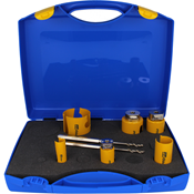 Immagine di serie seghe tazza multipurpose  6 pz.22/64 d click&drill