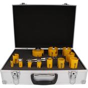 Immagine di serie seghe tazza multipurpose 12 pz.16/76 d click&drill