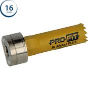 Immagine di seghe tazza click&drill hss+ mm. 16 regolare bimetal steel & metal