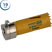 Immagine di seghe tazza click&drill hss+ mm. 19 regolare bimetal steel & metal
