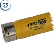 Immagine di seghe tazza click&drill hss+ mm. 25 regolare bimetal steel & metal