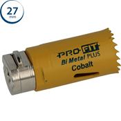 Immagine di seghe tazza click&drill hss+ mm. 27 regolare bimetal steel & metal