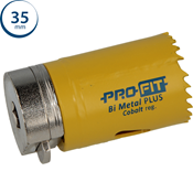 Immagine di seghe tazza click&drill hss+ mm. 35 regolare bimetal steel & metal