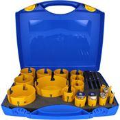 Immagine di serie seghe tazza multipurpose 17 pz.32/114 dct click&drill