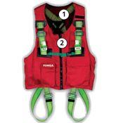 Immagine di imbracature sicurezza ecosafex vest en 361 - en 363