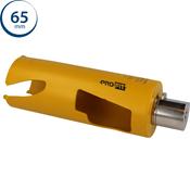 Immagine di seghe tazza click&drill hm mm. 65 long multipurpose wood&stone