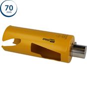 Immagine di seghe tazza click&drill hm mm. 70 long multipurpose wood&stone