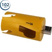 Immagine di seghe tazza click&drill hm mm.102 long multipurpose wood&stone