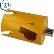 Immagine di seghe tazza click&drill hm mm.121 long multipurpose wood&stone