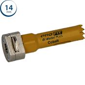Immagine di seghe tazza click&drill hss+ mm. 14 regolare bimetal steel & metal