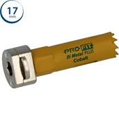 Immagine di seghe tazza click&drill hss+ mm. 17 regolare bimetal steel & metal