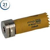 Immagine di seghe tazza click&drill hss+ mm. 21 regolare bimetal steel & metal