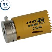 Immagine di seghe tazza click&drill hss+ mm. 33 regolare bimetal steel & metal