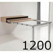 Immagine di meccanismi tavoli estraibili mens.party l1200 set 1 tavolo