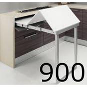 Immagine di meccanismi tavoli estraibili party l 900 set 1 tavolo c/tappi x guide