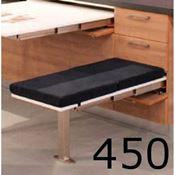 Immagine di meccanismi sedute estraibili t-bench l 450 set 1 panca