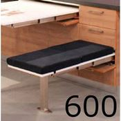Immagine di meccanismi sedute estraibili t-bench l 600 set 1 panca