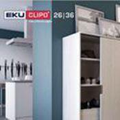 Immagine per la categoria Eku Clipo 26|36 per ante legno