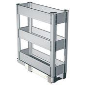 Immagine di Cestelli alluminio triplo piano