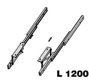 Immagine di meccanismi tavoli estraibili opla l1200 set 1 piano