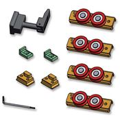 Immagine di guide tavoli kit accessori set estrazione x 1 guida singola