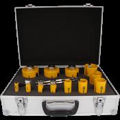 Immagine di serie seghe tazza multipurpose 12 pz.16/82 d click&drill