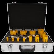 Immagine di serie seghe tazza multipurpose 12 pz.16/82 dct click&drill