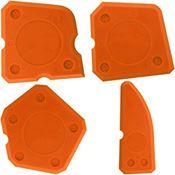 Immagine di spatole spalma silicone sps-4 set 4 spatole