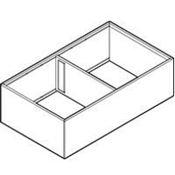 Immagine di divisori ambialine c/f p>=400 l218 grigio 2 scomparti