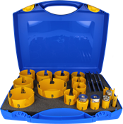 Immagine di serie seghe tazza multipurpose 17 pz.16/127 dct click&drill