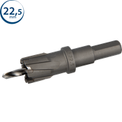 Immagine di seghe tazza endura hm mm. 22.5 c/punta centraggio co m35