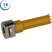 Immagine di seghe tazza click&drill hss+ mm. 14 variabile bimetal plus