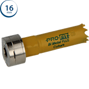 Immagine di seghe tazza click&drill hss+ mm. 16 variabile bimetal plus