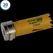 Immagine di seghe tazza click&drill hss+ mm. 20 variabile bimetal plus