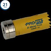 Immagine di seghe tazza click&drill hss+ mm. 21 variabile bimetal plus