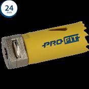Immagine di seghe tazza click&drill hss+ mm. 24 variabile bimetal plus