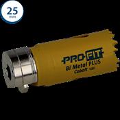 Immagine di seghe tazza click&drill hss+ mm. 25 variabile bimetal plus