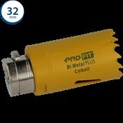 Immagine di seghe tazza click&drill hss+ mm. 32 variabile bimetal plus