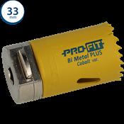 Immagine di seghe tazza click&drill hss+ mm. 33 variabile bimetal plus