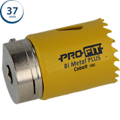 Immagine di seghe tazza click&drill hss+ mm. 37 variabile bimetal plus