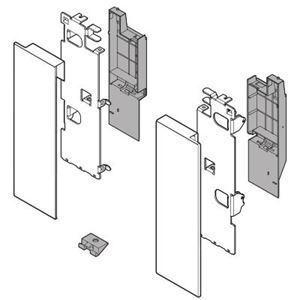 Immagine di frontali interni legrabox c zi7.3c grigio set x ringh. s/barre