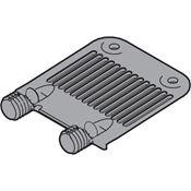 Immagine di frontali rinforzo legra/tbox a pettine grigio piastrina pl c/spine