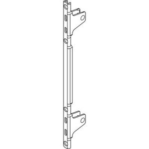 Immagine di frontali legrabox regolabili c avvitare zinc. c/fori vite